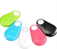 drahtlose auto-taste großhandel-2018 Heißer verkauf Mini Smart Wireless Bluetooth Tracker Auto Kind Brieftasche Haustiere Schlüsselfinder GPS Locator Anti-verlorene Alarm Erinnerung für handys
