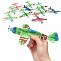Wholesale Air Sailer Toy Flying Glider Planes Airplane Birthday Christmas Gift for Children