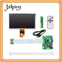 """Wholesale Driver Board For Lcd - Jstping 7""""inch EJ070NA-01J HD LCD screen Monitor HDMI VGA 2AV LVDS for Raspberry Pi Input Driver Board High resolution display"""