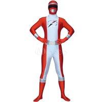 Wholesale zentai anime cosplay costumes - 5 Colors Adult Children's Men's Women's Halloween SuperHero Soldier Cosplay Costumes Anime Lycra Zentai Costume Full Body Suit