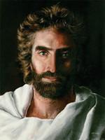 modern resim çerçeveleri toptan satış-Cennet GERÇEK İsa için, 1 ADET Ev Dekor HD Baskılı Modern Sanat Tuval Üzerine Boyama (Çerçevesiz / Çerçeveli)