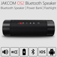 Wholesale Power Outdoor Speakers - Jakcom OS2 Outdoor Bluetooth Speaker Waterproof 5200mAh Power Bank Bicycle Portable Subwoofer Bass Speaker LED light Bike Mount