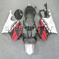Wholesale rc51 red fairing for sale - Group buy colors Gifts red white VTR1000 motorcycle Fairing for HONDA VTR SP1 RC51