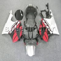 honda vtr sp2 fairings toptan satış-renkler + Hediyeler kırmızı beyaz VTR1000 2000 2001 2002 2003 2004 2005 2006 motosiklet HONDA VTR SP1 RC51 00 01 02 03 04 05 06