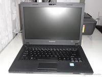 relogios usados venda por atacado-Usado Lenovo E49L Laptops 14.1 polegadas Windows 7 Versão em Inglês Laptop Celeron processador dual-core L1005 com clock de 1.9GHz Notebook Laptop