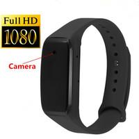 caméra portable achat en gros de-SQ100 Smart Bracelet Caméra HD 1080 P Mini Caméra Bracelet 14.2 Million Pixels Objectif Caméra Portable Dispositif Micro Cam