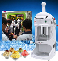 Wholesale snow machines for sale - Group buy Commercial Snow Ice Shaver Machine Electric Shaved Ice Machines For Sale Ice Shaving Machine Price