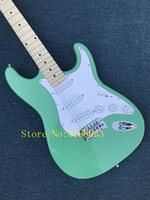 ingrosso marche della chitarra della porcellana-Chitarra elettrica All'ingrosso nuovo fen st custom shop chitarra elettrica / marca oem colore verde chitarra / chitarra in cina