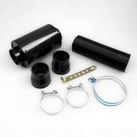 filtros de ar de corrida venda por atacado-Frete Grátis Universal Kit Caixa De Filtro de Ar de Fibra De Carbono De Indução De Alimentação De Frio Kit de Admissão de Ar Kit Sem Ventilador
