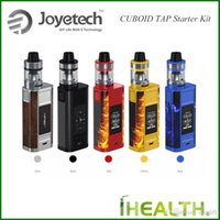 Wholesale metal aries resale online - Authentic Joyetech CUBOID TAP Starter Kit W Quick charge system Power bank for reverse charge with ml ProCore Aries Tank fast shipping