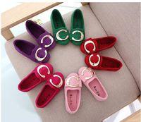 Wholesale dress patterns for children - Girls Shoes Children Fashion Princess Shoes Kids Candy Color Princess Shoes For 4Y+ 6 pair l