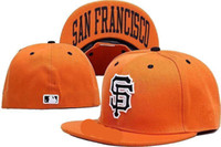 Wholesale Giant Animals - Wholesale New Cheap Giants Fitted Hats Baseball Cap Flat-brim Hat Team Size Baseball Cap Giants Classic Retro Fashion