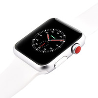 Wholesale email watch - Goophone Watch 3 Magnetic Adsorption Wireless Charging 42mm Smart Watch Bluetooth 4.0 MTK2502 for Android iOS Smartphone iPhone X 8 Plus 7 6