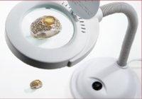 vergrößerungslampe führte licht großhandel-Lupe für Sehbehinderte Lupe Lampe Licht led Leselampe Schreibtisch Schwanenhals Tageslicht Desktop Hobby Handwerk Werkzeuge