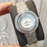 Wholesale nice crystal jewelry resale online - 2019 Top sell HIgh Quality Luxury rinestones women watch diamond Fashion lady dress watch famous nice Crystal female casual clock
