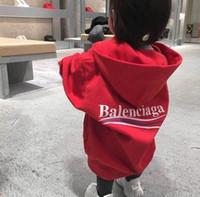 ingrosso immagini di abbigliamento per bambini-felpe di cotone di alta qualità per bambini felpe in cotone per bambini cappotti larghi 2-7T