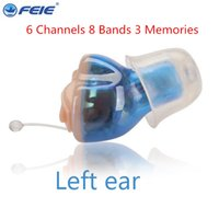 Wholesale best hearing aids - Audiphones Hearing Aid mini in the Ear High Low Tone and Convenient Hearing Aids Best Sound Voice Amplifier for hearing loss S A