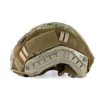 accesorios de casco rapido al por mayor-Accesorio para DIY Army CS Tactical Fast Casco Cubierta Hunting Paintball paño MH PJ BJ Style