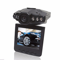 Wholesale camera h198 resale online - 2 Car Dash cams Car DVR recorder camera system black box H198 night version Video Recorder dash Camera