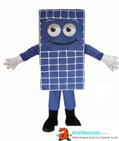 Wholesale advertising panels online - Funny Solar Panel mascot costume character costumes for sale Buy Mascots online at ArisMascots Advertising deguisement mascotte