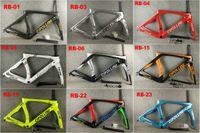 conjuntos de quadros de bicicletas venda por atacado-30 CORES 2018 Carbon Road Quadro Cipollini RB1K THE ONE Antracite Brilhante RB1000 T1100 bicicleta de estrada de fibra de carbono conjunto de quadros de bicicleta