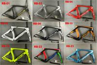 ein fahrrad großhandel-30 FARBEN 2018 Carbonstraßenrahmen Cipollini RB1K DAS Anthrazit-glänzende RB1000 T1100 Carbon-Rennrad-Fahrradrahmen-Set