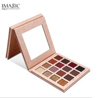 ko großhandel-MAGIC Glitter Matte Eyeshadow 16 Farbpalette Make-up-Palette Matte Shimmer Pigmentierte Lidschatten Puder Make-up Kosmetik Sombras
