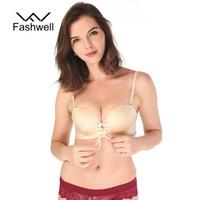 544b03b8851 Hot Fashion Solid wire free Bra Women Sexy Push Up Bra Strapless Invisible Bras  Side Closure Bras Underwear. 34% Off