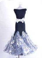 ingrosso zebra bowtie-abito da ballo moderno senza maniche ricamato a forma di cravatta a fiocco con cintura o con fiocco W13003B