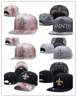 Wholesale camo snapbacks - 2018 hot sale New Orleans hats Men Saints USA FLAG camo snapbacks Cool Women Sport Adjustable Caps Hats snapbacks Accept Drop ship