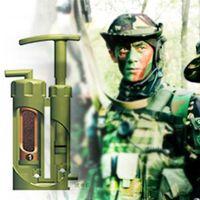 pompe à eau propre achat en gros de-Portable Céramique Soldat Filtre À Eau Purificateur Cleaner pour Survie En Plein Air Randonnée Camping Urgence Purifier Pompe Extérieure # B