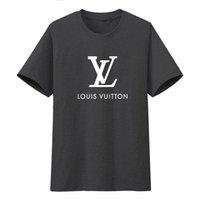 moda tişört kadın sokak toptan satış-8ss Yaz Sokak giyim Avrupa Paris Moda Erkekler Yüksek Kaliteli Büyük Kırık Delik Pamuk Tshirt Casual Kadın Tee T-shirt S-3XL