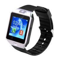 Wholesale wrist wach - DZ09 Smartwatch Sport SIM Digital Electronics Wrist Phone Smart Watch With Men Women For Apple Android Wach Wearable Devices