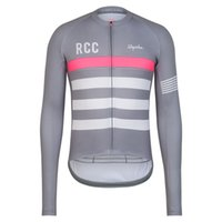 Wholesale Bicycle Jerseys Custom - 2018 pro team rcc rapha spring custom long cycling sets bicycle jersey sports clothing freeship ropa ciclismo camisa mtb bicicleta spexcel