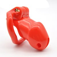 Wholesale hot sex men - 2018 hot sell higt quality Biosourced Resin Male Small Chastity Device for man adult sex tays