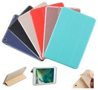 Wholesale Ipad Back Cover Housing - 1 Pc Lot Multi Size Candy Color Crystal Soft PU TPU Protective Back Case Cover Silicone Shell Housing For iPad