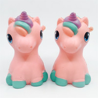 Wholesale design lovely cartoon for sale - Group buy Cute Pegasus Unixorn Cartoon Design Squishy Lovely Fresh Flexible Slow Rising Squishies For Home Room Decoration Kids Gifts Charms ly Z