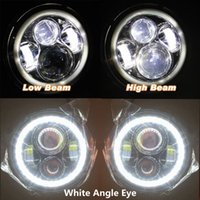 H13 White Halo Angel Eyes For Lada 4x4 Urban Niva Jk Totota Uaz 4x4 Truck Off Road Automobiles & Motorcycles Dependable 7 Inch Led Headlight Head Light Lamps H4 Car Lights
