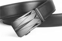 Wholesale joker trousers - Upscale boutique automatic belt buckle new luxury men leather trousers for joker business belt 110-125CM Freeshipping!