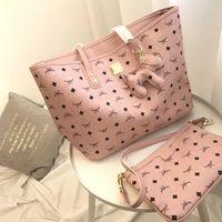 Wholesale thanksgiving sets for sale - Pink sugao designer handbags set high quality luxury bag famous designer women handbags shoulder bags color luxury bag set