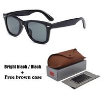 caixa de óculos estilo caixa venda por atacado-2018 estilo ocidental marca designer óculos de sol para mulheres dos homens clássico do vintage dos homens motorista óculos de sol uv400 lente com caixa e caixa