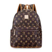 sırt çantaları kızlar için sırt çantası toptan satış-Moda Kadın Sırt Çantası Schoolbag Sevimli Küçük Sırt Çantası Yüksek Kaliteli Deri Kadın Sırt Çantaları Genç Kızlar için Sırt Çantası