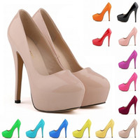 Wholesale yellow bridal peep toe heels - Women Shoes Ultra-stylish Nightclub Style Shoes Bridal Super High Heels Waterproof