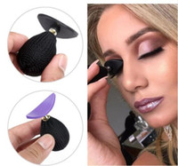 Wholesale Kit Stamper - Lazy Silicone Eye Shadow Crease Eyeshadow Glittering Lazy Applicator Silicone Eyeshadow Stamper Lazy Makeup Tool KKA4823