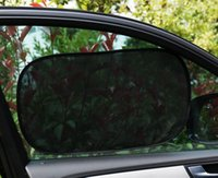 Wholesale Windows Clings - Car Window Sunshine Shade Glass Sunshade Protective Mesh Static Cling Surface Premium Stitching Light Weight Frame
