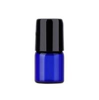 парфюмерные бутылки синие оптовых-1 мл 2 мл 3 мл Cobalt Blue Glass Micro Mini Roll на стеклянных бутылках с металлическими роликовыми шариками для ароматных духов