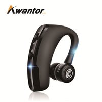 Wholesale single earphone headset for sale - Group buy V9 Bluetooth Headset CSR Chips with Side Earphone For Phone call Handfree Single Earhook Bluetooth Headset for Iphone Xs Samsung S9