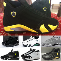 Wholesale 14 boot for sale - 2018 Fashion balack red FOR XIV Men s basketball shoes sports boot S sneaker men size US8