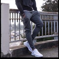 Hot selling sweatpants Newest Mens Sweatpants Autumn Winter Man Gyms Fitness Bodybuilding Joggers workout trousers Male Casual cotton Pencil Pants