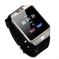Wholesale remote control lg - DZ09 Bluetooth Smart Watch Phone Mate GSM SIM For Android iPhone Samsung HTC LG Huawei Cell phone 1.56 inch Free DHL smartwatches